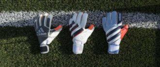 Футбольные перчатки для вратаря